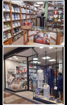 Biancheria Zampieri Marostica Vicenza Interno negozio